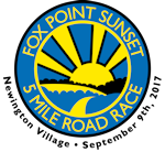 Fox Point Sunset 5 Mile Road Race Logo
